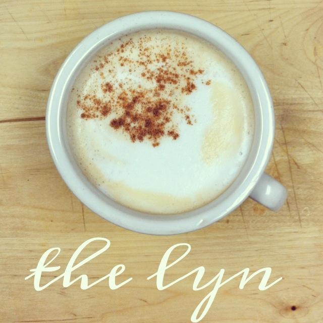 the lyn: a cinnamon roll latte